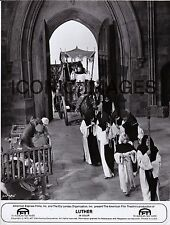 ORIGINAL1973 MOVIE PHOTO - LUTHER - STACY KEACH - PATRICK MAGEE - HUGH GRIFFITH