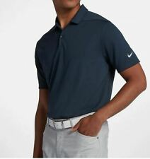 Men's Nike Victory Dri-Fit Solid Golf Polo Obsidian 891881 Size S New with tag