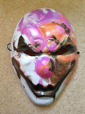 PayDay2 mask signed by Hoxton Voice Actor