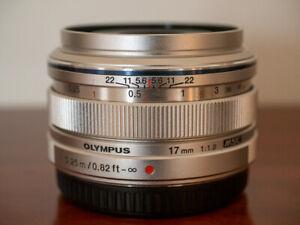 Olympus M.Zuiko 17mm f/1.8 AF Lens