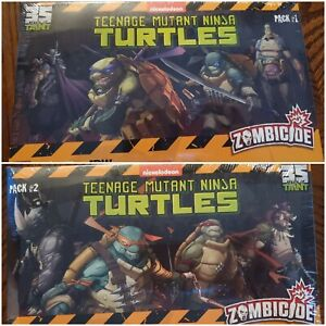 TMNT CMON Zombicide Packs #1 and #2 SDCC Exclusive