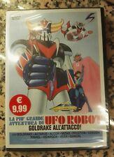 LA PIU' GRANDE AVVENTURA DI UFO ROBOT - GOLDRAKE ALL'ATTACCO! DVD (SIGILLATO!)