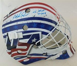 Mike Richter Signed Team USA Bauer Full Size Goalie Mask (JSA COA) Ranger Goalie