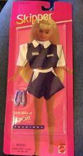 Vintage 1995 Skipper Sister Of Barbie Shirt Shorts Shoes Outfit NEW Mattel