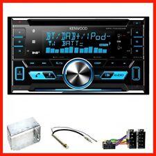 Kenwood DPX-7000DAB USB MP3 Bluetooth DAB+ Einbauset für Golf 4 Passat 3B Polo 9