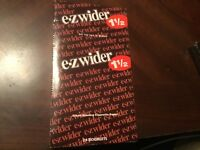 EZ Wider Box(24 Packs)Of Rolling Papers 1 1/2*1.5
