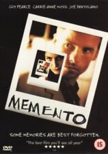 Memento (Guy Pearce Carrie-Anne Moss) Region 2 DVD New