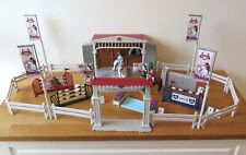 Schleich Big Horse Show Arena 42338 - includes horses, riders, jumps