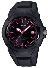Casio Collection Damenuhr LX-610-1A2VEF schwarz Datum