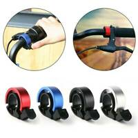 1x Bicycle Bike Bell Cycling Handlebar Horn Ring Alarm Safety Loud Sound 90db