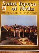 SAINT TERESA OF AVILA A SPIRITUAL ADVENTURE By Tomas Alvarez - Hardcover *VG+*