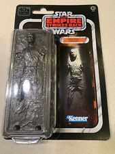 "Star Wars Black Series 40th Anniversary HAN SOLO CARBONITE 6"" **see detail**"