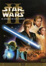 PELICULA DVD STAR WARS EPISODIO 2 EDICION ESPECIAL 2 DISCOS _5