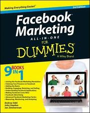 Facebook Marketing All-In-One for Dummies (Paperback or Softback)