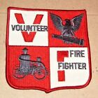 Volunteer Fire Fighter Patch