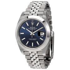 Rolex Datejust 41 Blue Dial Automatic Mens Watch 126300BLSJ