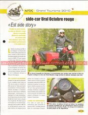 URAL 750 + Side Car 2010 Joe Bar Team Fiche Moto #007865