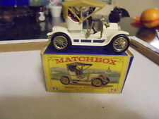 ORIGINAL VINTAGE MATCHBOX Y4 1909 OPEL COUPE MIB