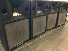 4 X EV S200 Pro Speakers. The Fore Runner Of SX200 & SX300. Some Say The Best.
