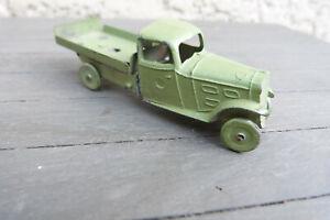 jouet ancien camion peugeot AR plateau plomb avant guerre