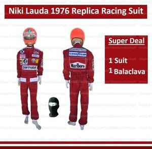 Niki Lauda 1976 Racing Suit in digital printing Go Kart Suit Karting F1 Suit