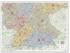 Code Postal Sud De L'Allemagne Format Paysage 131x98cm #110131