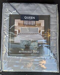 Amy Miller Home Queen Reversible Quilt New
