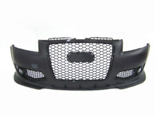 Audi A3 8P 2005-2008 RS Style Front Bumper with Black Grille w/ Fog