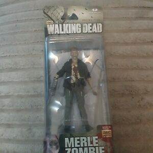 MERLE DIXON ZOMBIE  WALKING DEAD  SERIES 5,  WITH MICHAEL ROOKER SIGNATURE