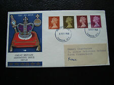 ROYAUME-UNI - enveloppe 1er jour 5/2/1968 (cy17) united kingdom