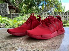 Adidas NMD R1 Triple Red Scarlet Size 12 Used Shoes