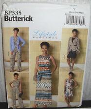 Womens/Misses Jacket Dress Jumpsuit Sewing Pattern/Butterick BP335/SZ XS-M/UCN