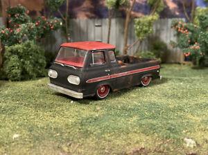 1965 Ford Econoline Truck Weathered Rusty Custom 1/64 Diecast Barn Find Rust M2