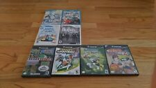 Lot of 8 Wii, Wii U, and Gamecube Games Namco Naruto Madden NFL