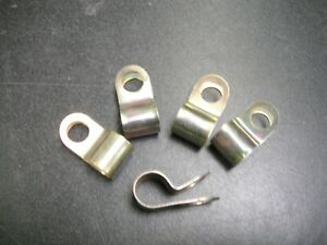 JAGUAR PIPE CLIP 1CM HOLE FIXING - SET OF 5 #C1040/2