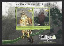 PAPUA NEW GUINEA 2018 BIRDS MINIATURE SHEET  BIRDPEX UNMOUNTED MINT, MNH
