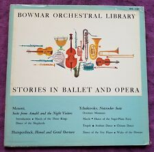 Record: Bowmar Orchestral Library- Stories in Ballet & Opera. Dance Sugar Plum