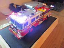 1/32 Code 3 Diamond Plate FDNY Engine 88 Flashing LED Lights & Sirens in Case