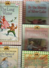 5 LAURA INGALLS WILDER LITTLE HOUSE CHAPTER BOOKS