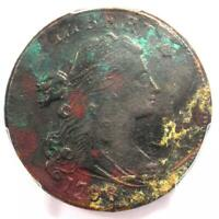 1798 Draped Bust Large Cent 1C - PCGS XF Details (Corrosion) - Rare Early Date!
