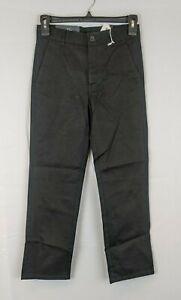 Nautica Uniform Pant, Black, Boys 10