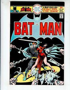 "Batman 269 F+ (6.5) 11/75 ""The Daily Death of Terry Tremayne!"""
