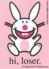 Happy Bunny Hi Loser Sticker