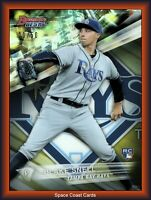 2016 Bowman's Best BLAKE SNELL Rookie Card RC #14 GOLD Refractor #'d /50