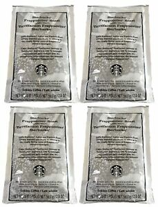 Starbucks (4 Pack) Frappuccino Roast 2oz Packets For Blended Beverages 8oz Total