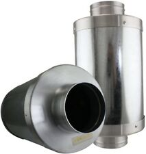 VenTech VT FS-6 FS6 Muffler Noise Reducer Silencer System For Inline Duct Fan,