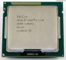Intel i7 3770 Quad Core 3.40 Ghz LGA 1155 Ivy Bridge Processor CPU NEW OEM