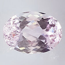 EYE-CATCHING 7.25 CT OVAL SHAPE 100% NATURAL KUNZITE IN LIGHT PINK COLOR