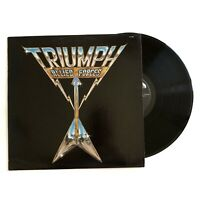 """TRIUMPH  """"Allied Forces"""" Vinyl LP 1981 RCA Records  AFL1-3902 Stereo"""