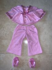 "American Girl Doll Pajamas & Slippers for 18"" Doll"